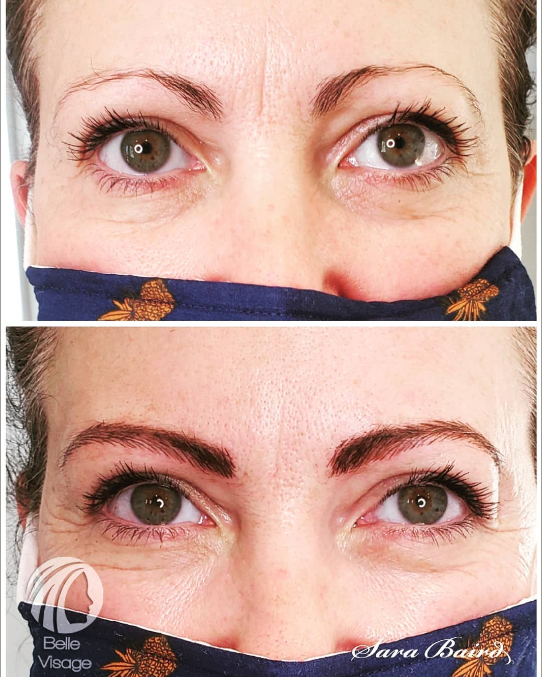 permanent woman eyebrows
